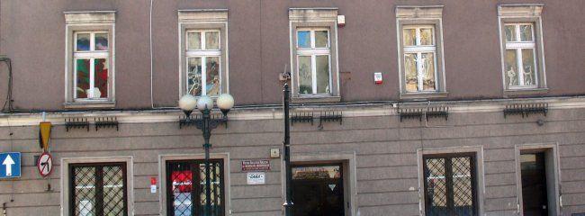 Budynek MBP-CK w Boguszowie-Gorcach