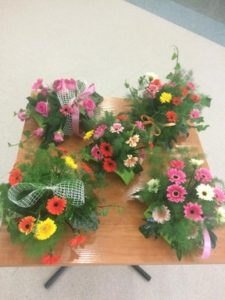 obrazek pokazujacy efekty warsztatów florystycznych