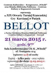 XIX Edycja Bellota 2015