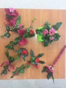 drugi obrazek pokazujacy efekty warsztatów florystycznych